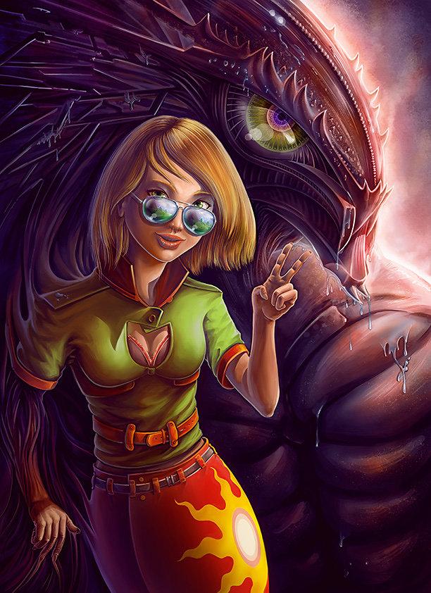 Monster Behind