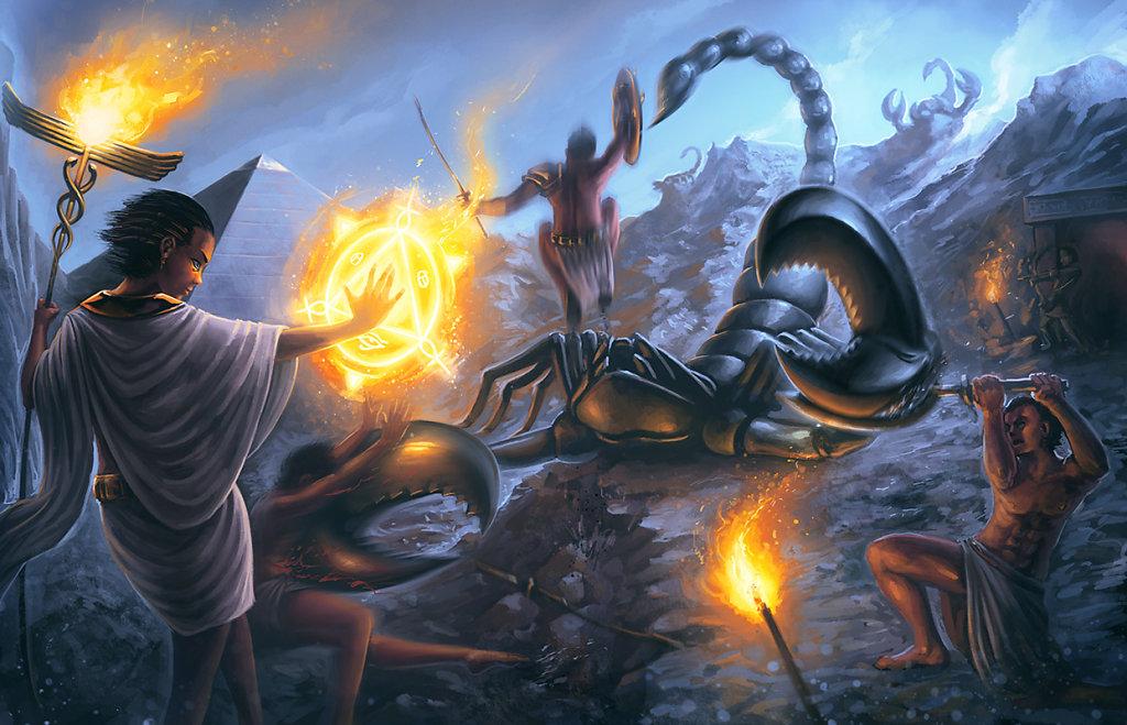 Scorpion Aegyptus