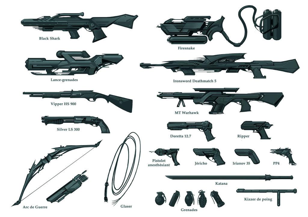 Armes pour Subabysse
