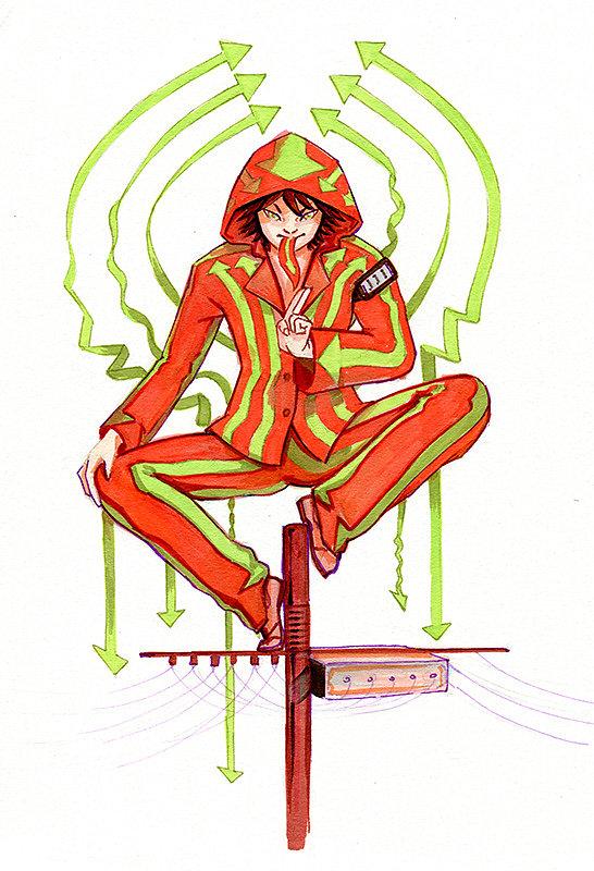 Kaminari Jinzou - Naruto jdr