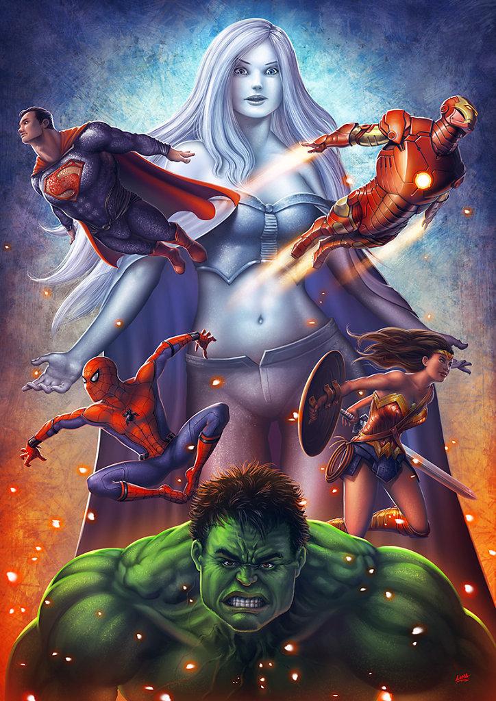 Game In Super Heroes