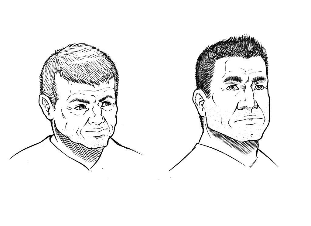 Allan Gilder Stone et Franck Peterson