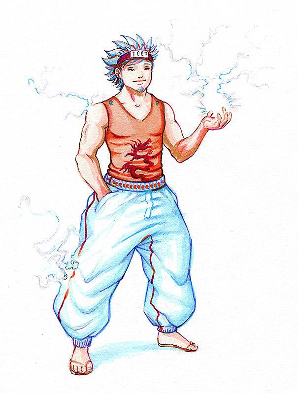 Ratei Denryoku - Naruto Jdr