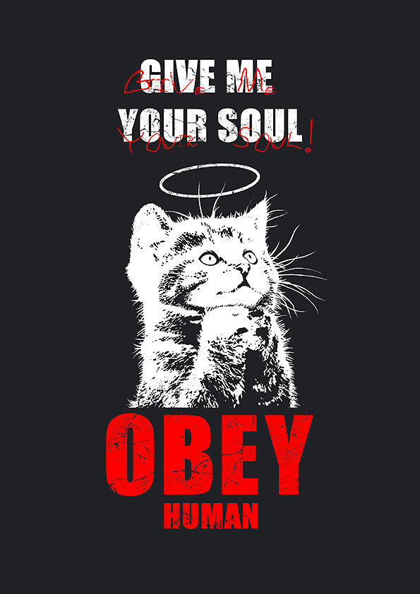 T-shirt - Give me your soul