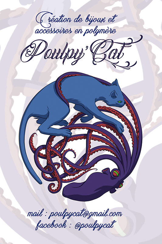 Poulpy'Cat Carte de Visite