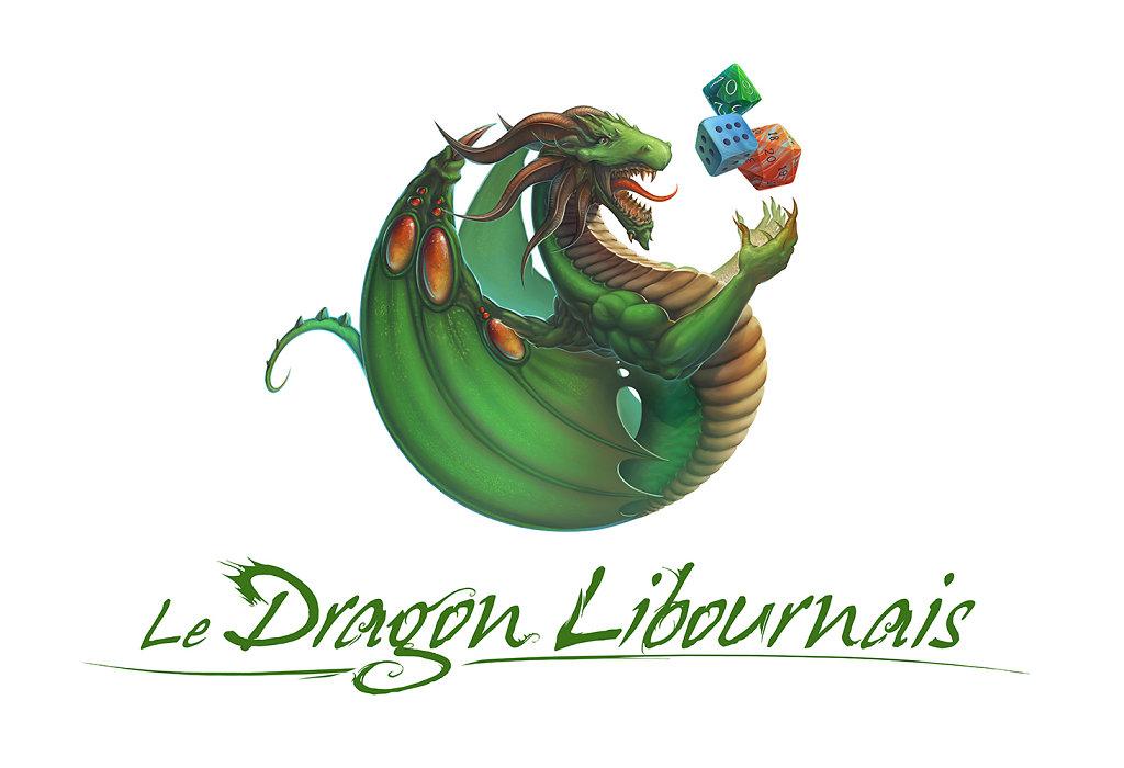 Logo et Pïcto Dragon Libournais