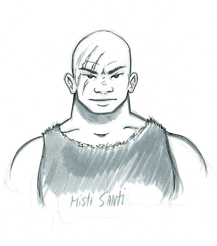 Misti Santi Portrait