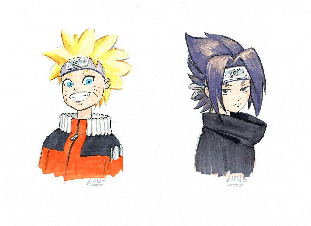 Naruto Sasuke, Fanart of Sykosan work