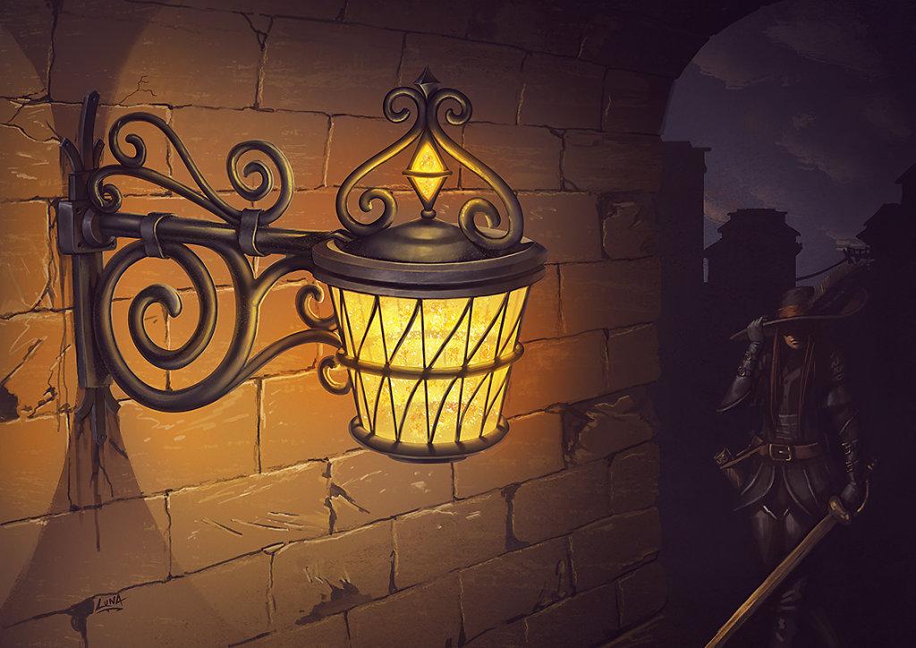 Lampe au Mellia