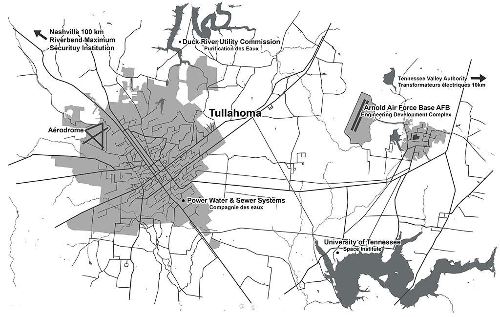 Map Tullahoma